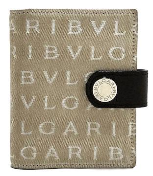 正規ブルガリミニ手帳カバーカードケース名刺入れロゴ