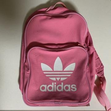 adidas リュック  ピンク