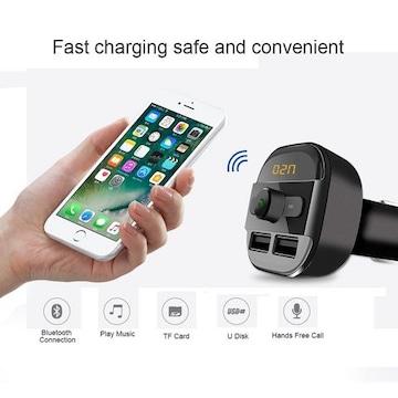 Bluetooth4.2対応急速充電可3A+2AのUSB