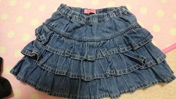 ジェニィ★デニム★スカート