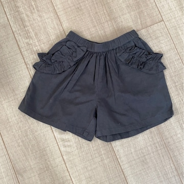 新品未使用ショーパン短パン110麻リネン女の子夏