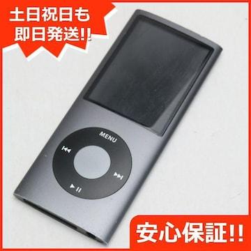 ●安心保証●美品●iPOD nano 第4世代 8GB ブラック●