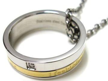 ダナスダイヤモンドネックレス-Danasステンレスネックレス