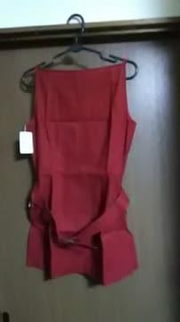新品タグ付き*赤のミニワンピース