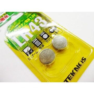 アルカリ電池 30個セット ボタン電池 LR43 1.5V コイン電池TLR43