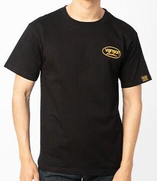 新品バンソンコットンTシャツ黒×イエローVS21802S