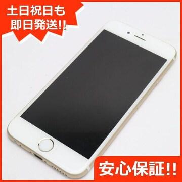 ●安心保証●美品●DoCoMo iPhone6S 16GB ゴールド●白ロム