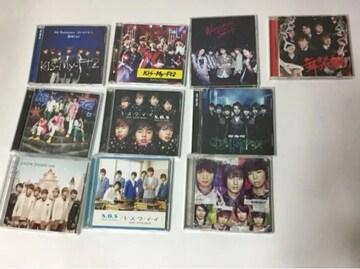 Kis-My-Ft2 CD 10点セット まとめ売り/管理番号KM-M�@