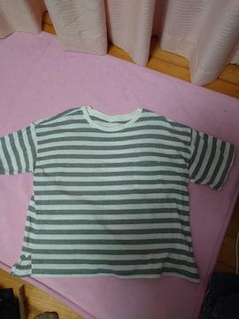 新品サイズLL ボーダーtシャツ