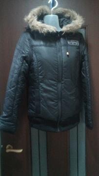 新品8295円タグ★リズリサドール★黒ジャケット/パーカー/中綿入