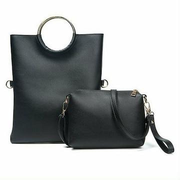 ショルダーバッグ クラッチバッグ ハンドバッグ 人気商品 黒