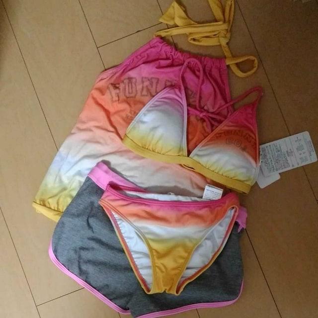 新品 タンキニ 水着 ユッキーナデザイン 7号 < 女性ファッションの