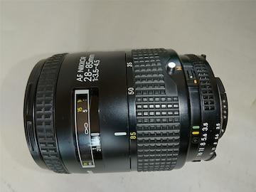 AF NIKKOR 28-85mm 1:3.5-4.5 後期