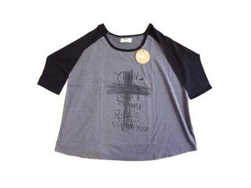 新品 GRL グレイル  Tシャツ BIG ゆったり モノトーン Tシャツ