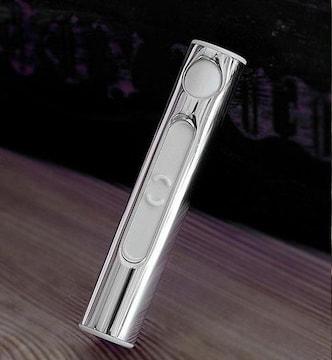 ♪M スリムなスティック型 USB充電 電子ライター SV