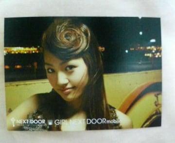 〓a-nation'09アーティストカードGIRL NEXT DOOR�G