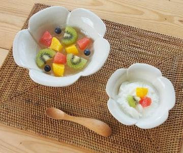 ★プルメリアボウルS 小鉢 小皿 アジアン/ハワイアン食器☆