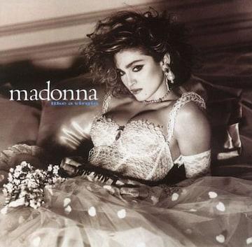 マドンナMADONNA 名盤アルバム「ライク・ア・バージン」アナログ盤レコード