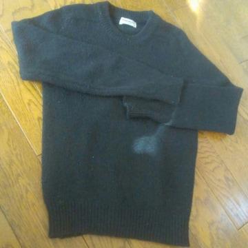 150 TomSawyer ブラック セーター