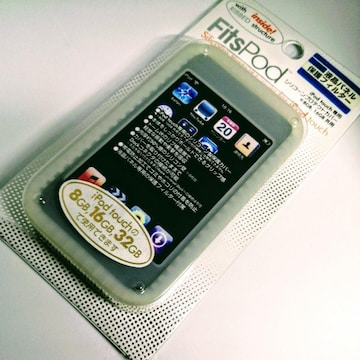 iPod touch シリコーン プロテクト カバー ホワイト