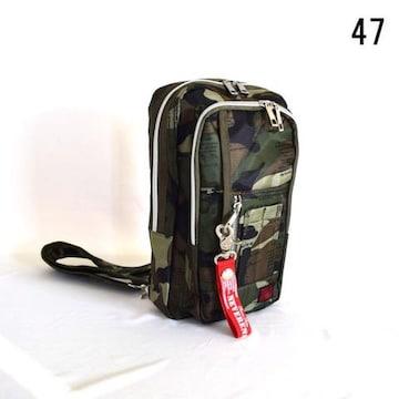 ★ポリツイル ミリタリー ★MA-1ポケット ボディーバッグ