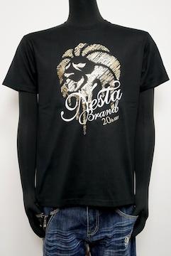 新品ネスタ202NB1003ドライ20thTシャツ黒M吸水速乾素材