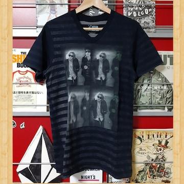 VOLCOM ボルコム 激レア!! Tシャツ USA製 Vネック ボーダー ドリン