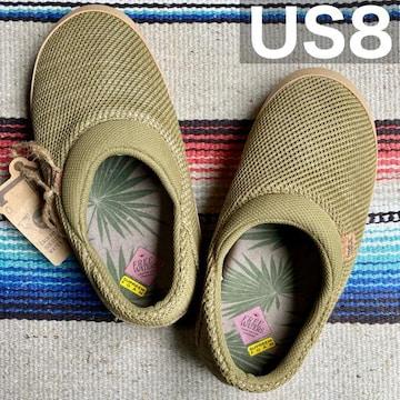フリーウォータースKAIサンダル【US8】イエローオーカ