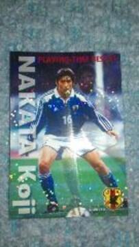 2002 カルビー日本代表カード IN-21 中田 浩二
