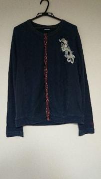 和柄カーディガン サードシックス