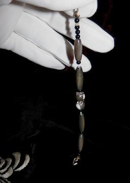 ■■即決■■美しい光沢の羽織留め、セミアンティーク(A)
