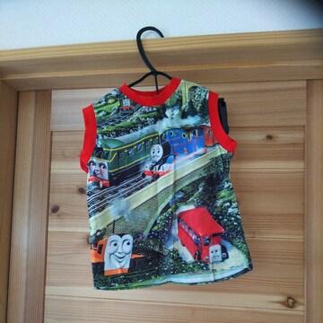 機関車トーマス♪タンクトップ♪子供服キッズ♪100サイズ