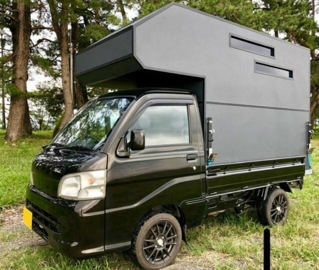 軽トラキャンピングカー  ハイゼットトラックベース 美品 < 自動車/バイク