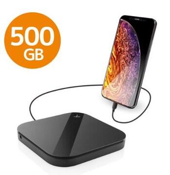 エレコム ELECOM Portable Drive USB3.0 500GB Black