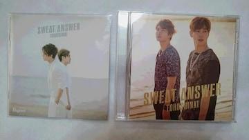 *☆東方神起★SWEAT/ANSWER(Bigeast盤CD)♪