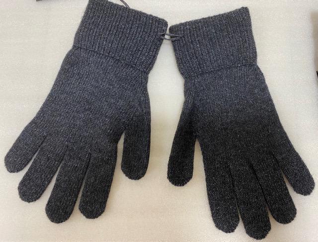 未使用 ランボルギーニ 手袋 グレー < 男性ファッションの
