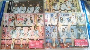 HKT48 バグっていいじゃん 初回盤TYPE ABC+劇場盤セット