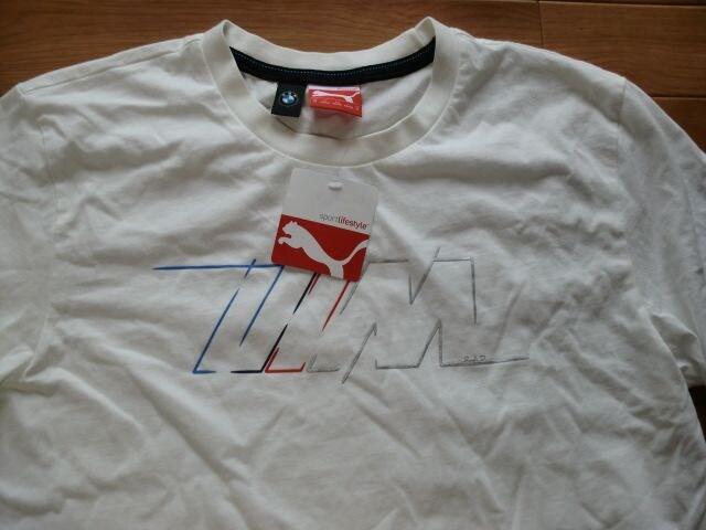 PUMA x BMW プーマ Tシャツ Mサイズ 新品 < ブランドの