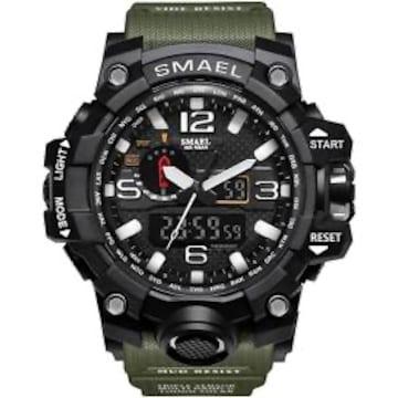 色アーミーグリーン 腕時計 メンズ SMAEL腕時計 メンズウォッチ