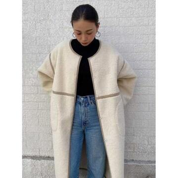 ☆EGOIST/ボアパイピングロングコート☆
