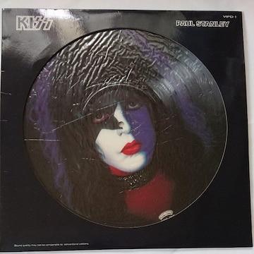 キッス〜ポール・スタンレーLPレコード