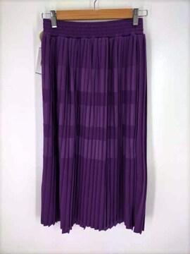 ZUCCa(ズッカ)プリーツジャージィープリーツスカート