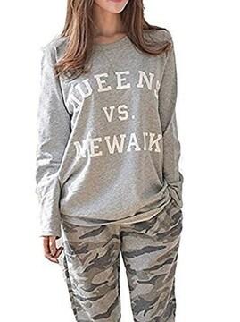 爆安★2777円★カモフラ 迷彩のパジャマ上下2点セット M