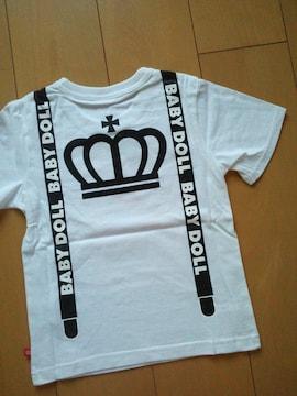 新品ネクタイTシャツ白140ベビードールBABYDOLLベビド