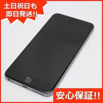 ●美品●DoCoMo iPhone6 PLUS 64GB スペースグレイ●