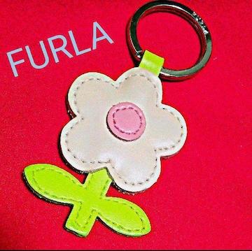 FURLA フラワーキーホルダー