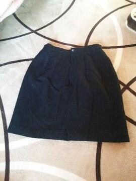 シンプル 膝丈スカート