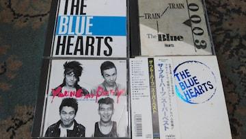 THE BLUE HEARTS(甲本ヒロト.真島昌利他) メルダック時代アルバム4枚セット