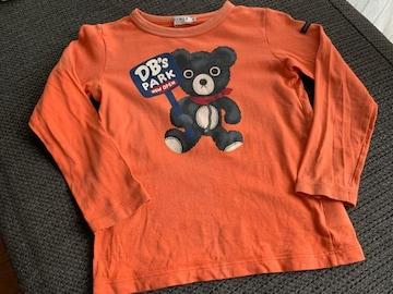 ミキハウス ダブルB 長袖Tシャツ120センチ