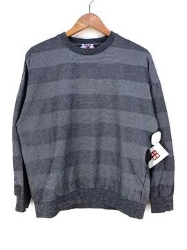 SON OF THE CHEESE(サノバチーズ)LYNX BORDER CREWクルーネックTシャツ